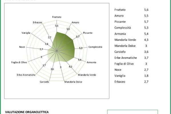 analisi sensoriale dell'olio: come si legge?